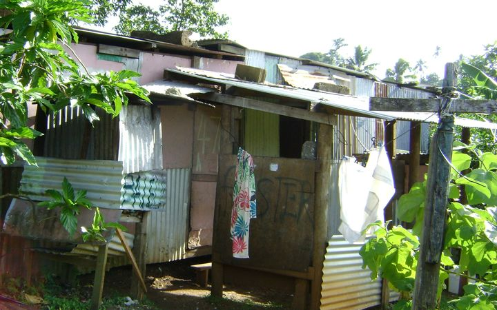 A house in Jittu Estate on the outskirts of Suva, Fiji