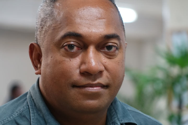 Fiji Times editor, Fred Wesley