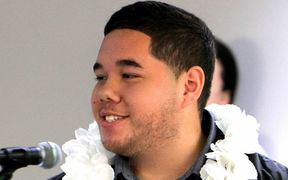 Pasifika researcher Caleb Marsters