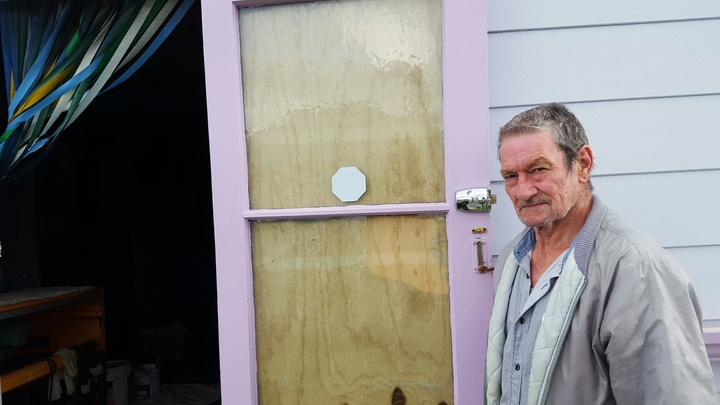 Dave Stone, 74, whose beloved car and tools were stolen from his garage opposite the Kawakawa police station.