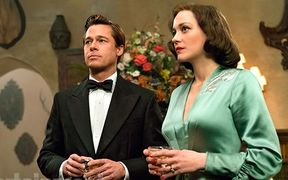 'Allied', starring Brad Pitt and Marion Cotillard.