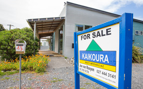 A house currently on the market in Kaikoura.