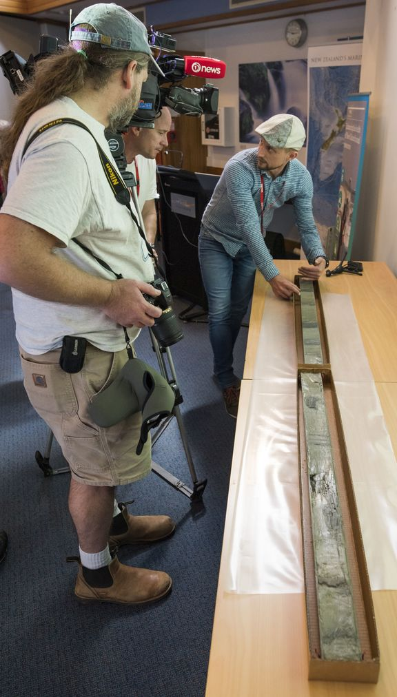 Sediment core