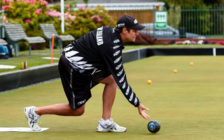New Zealand Blackjacks bowls representative, Jo Edwards