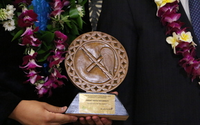 Nine young Pacific people received awards at the New Zealand Prime Minister's Pacific Youth Awards held in Wellington 2016.