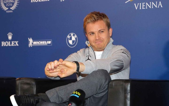 Nico Rosberg after announcing his retirement.