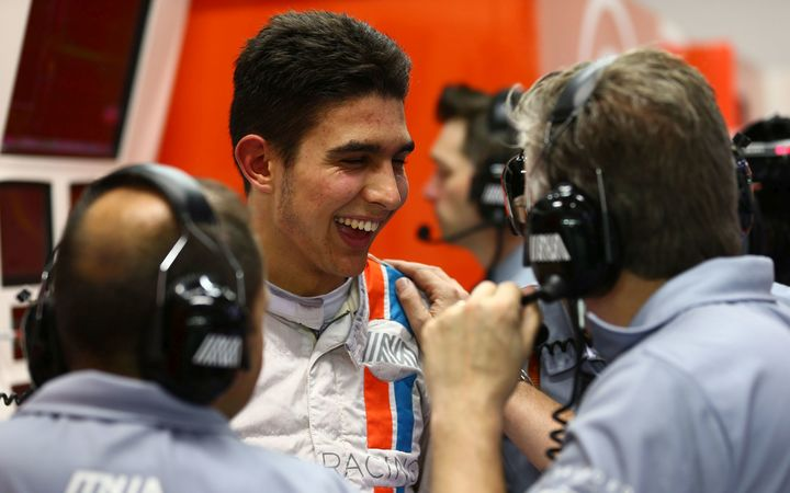 French motor racing driver Esteban Ocon.
