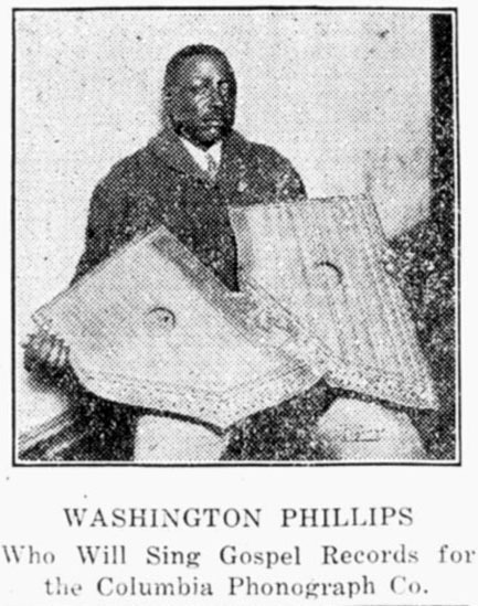 Washington Phillips-Louisiana Weekly Jan. 1928