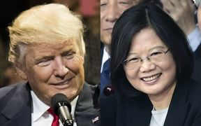 Donald Trump and Tsai Ing-wen