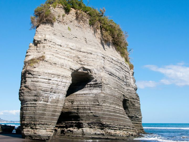 'Elephant Rock' in Taranaki truncated | RNZ News