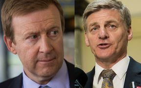 Health Minister Jonathan Coleman, left, and Deputy Prime Minister Bill English have confirmed they will go for the top job.