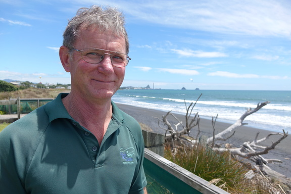 Fish & Game Taranaki field officer Allen Stancliff