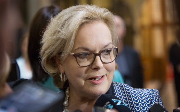 Judith Collins announces plans to run for National Party leader.