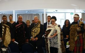 The Whatitiri trustees appear before the Waitangi Tribunal.