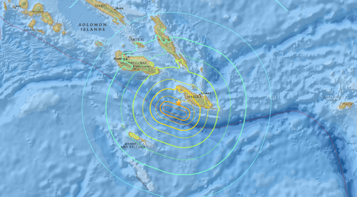Many countries remain on tsunami alert following a 7.8 magnitude earthquake off Solomon Islands.