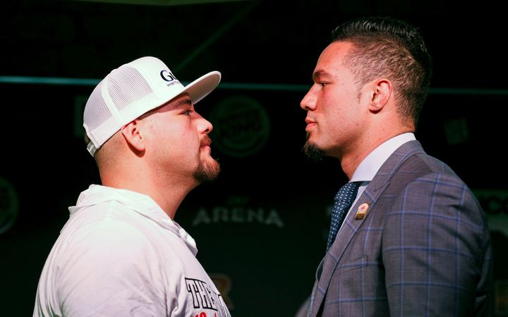 Andy Ruiz and Joseph Parker.