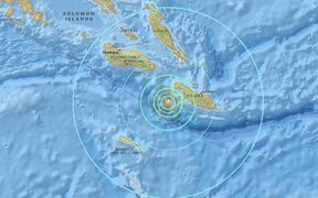 6.9 quake off Solomon Islands
