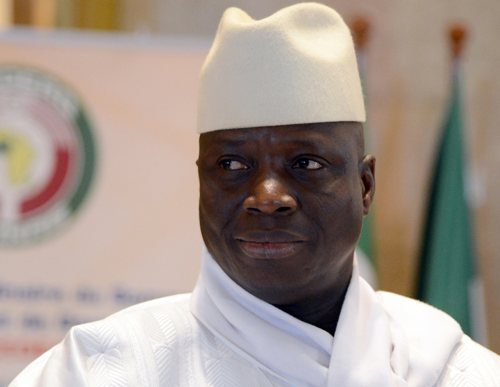 Gambia President Yahya Jammeh has called for another election after narrowly losing to opposition leader Adama Barrow.