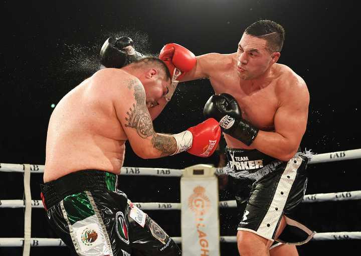 New Zealand heavyweight boxer Joseph Parker v Andy Ruiz Jr. WBO World Heavyweight Title.