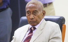 Governor of PNG's New Ireland Province, Sir Julius Chan.