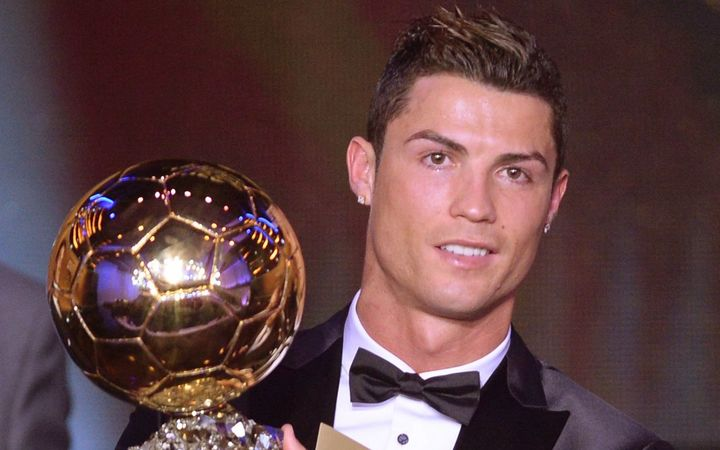 Ballon d'Or winner Cristiano Ronaldo