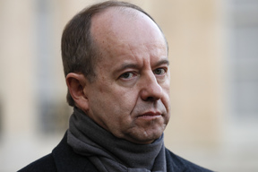 French Justice Minister Jean-Jacques Urvoas leaves following a cabinet meeting at the Elysee presidential palace in Paris on December 10, 2016.