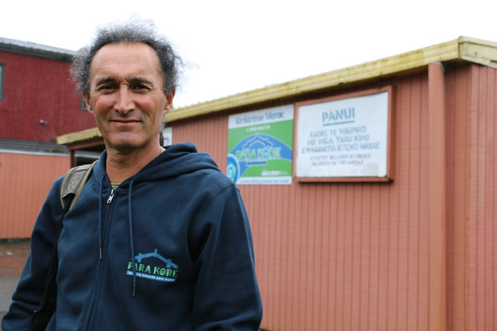 Pine Campbell says Para Kore is also about re-thinking how marae cater for events, he says one of the issues is serving up too much food that results in alot of food waste.