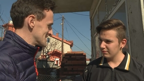 UK reporter Ciaran Jenkins confronts a 16-year-old running the fake news site '24 News Today' in Macedonia.
