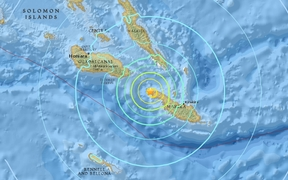 A magnitude 6.7 earthquake recorded in Solomon Islands, 20 December 2016.