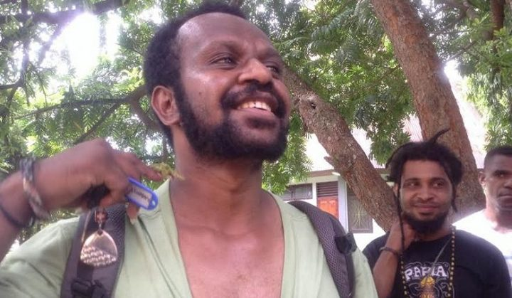 West Papuan photographic journalist Whens Tebay