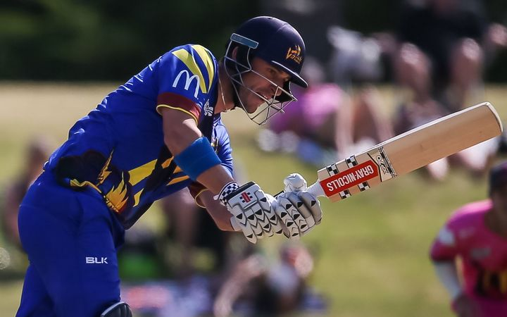 Hamish Rutherford guided the Otago Volts to a record 249-3.
