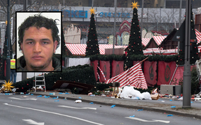 Anis Amri is wanted over the Berlin truck attack.
