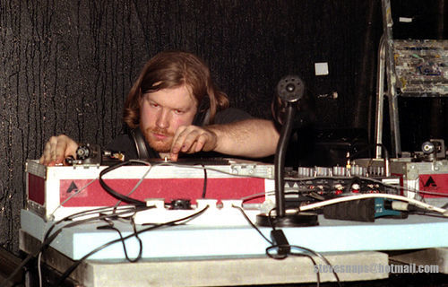 Aphex Twin at Glasgow School of Art