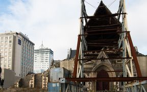 The Christ Church Cathedral has been abandoned for almost six years.