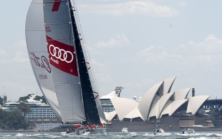 Wild Oats XI' skippered by Mark Richards