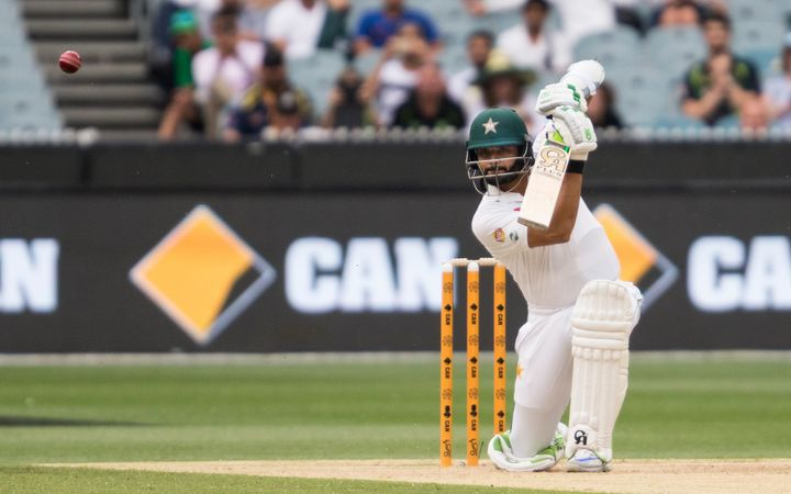 Pakistan batsman Azhar Ali during the second Test against Australia at the MCG.