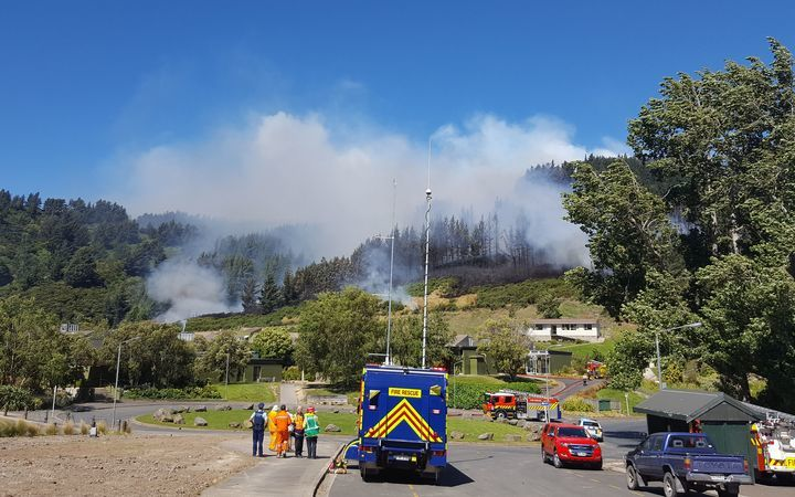 Fire on Signal Hill