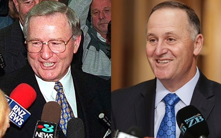 Jim Bolger steps down as Prime Minister in 1997, while John Key resigned from the role last year.