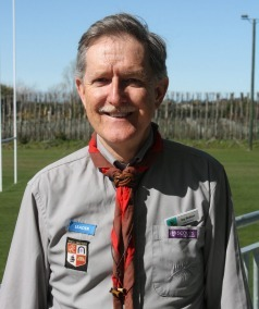 A picute of Jamboree Director Guy Betson from Scouts