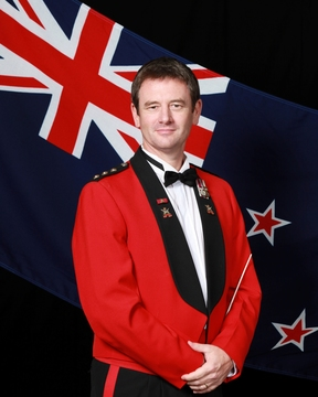 Major Graham Hickman, long-serving for New Zealand and the New Zealand Defence Force (NZDF) as both a soldier and musician.