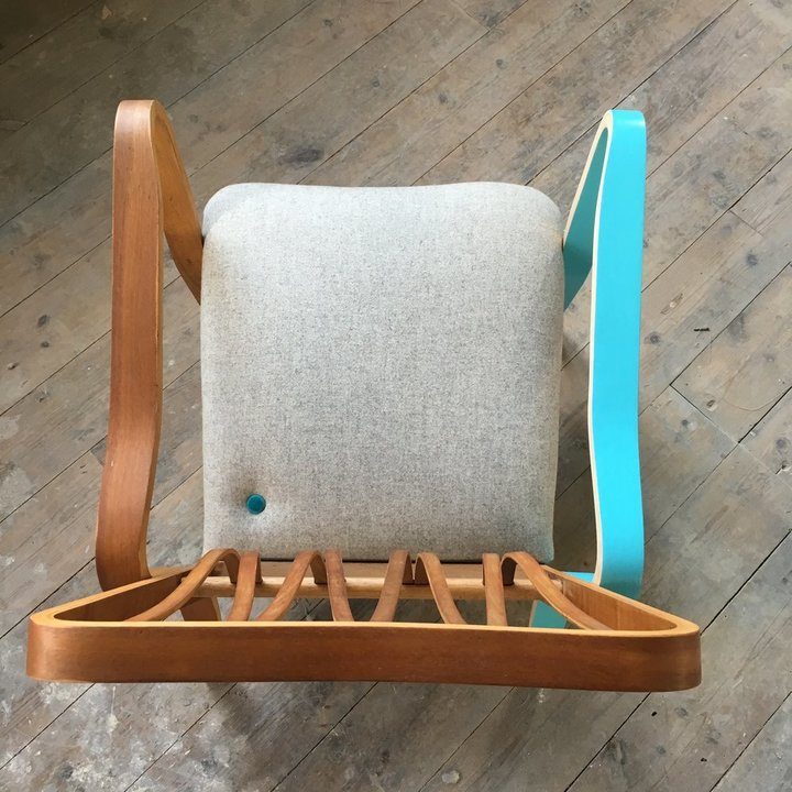 A Jay & Co restored chair.