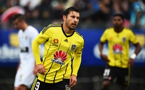 Wellington Phoenix striker Kosta Barbarouses.