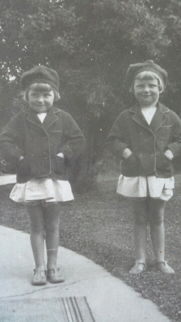 1931 winners of the Caroline Bay Carnival Freckle Face competition