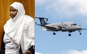 Asha Abdille stabbed both pilots on an Air New Zealand flight from Blenheim to Christchurch in February 2008.