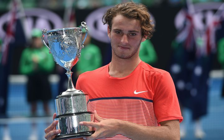 Australian junior tennis champion Oliver Anderson has been accused of match fixing.