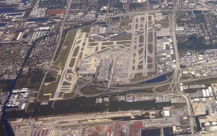 The Fort Lauderdale-Hollywood International Airport in Florida