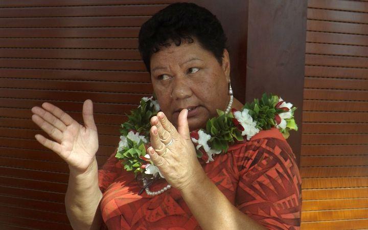 Samoa's Ministry of Education CEO, Afamasaga Dr Karoline Fuata'i
