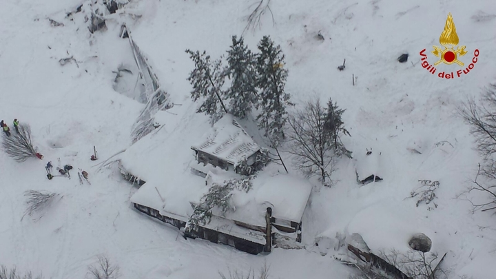 More survivors rescued from avalanche-hit Rigopiano hotel in Italy