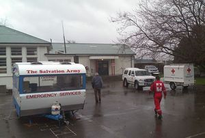 A welfare centre has been set up at Seddon School.