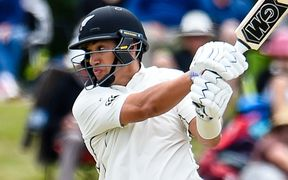 Ross Taylor during the 2nd day.